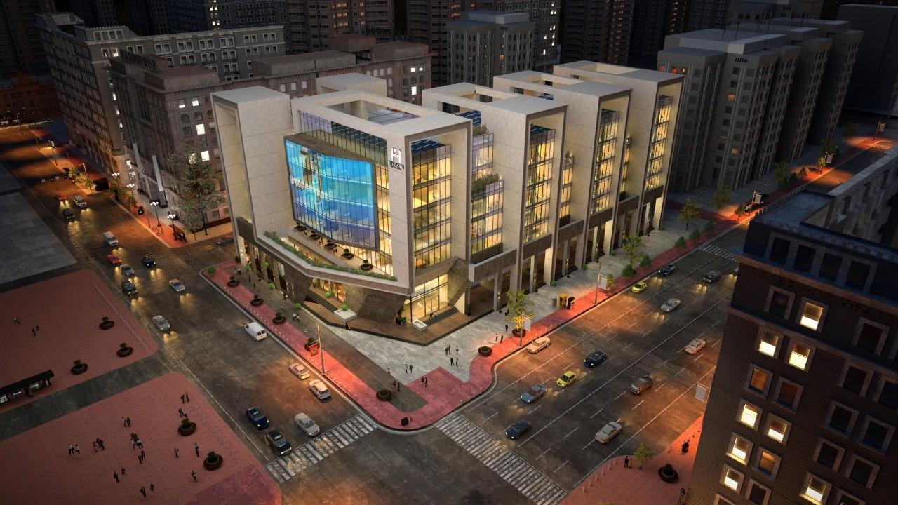 مكتب 45 م فايننشال هاب مول العاصمة الادارية|Financial HUB Mall New