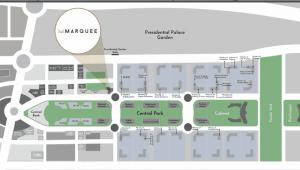 عيادات للبيع في مول ماركيه بيزنس بارك العاصمة الادارية