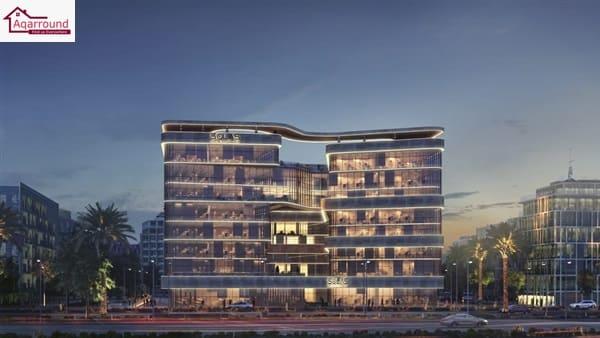 مشروع سولاس العاصمة الادارية الجديدة اكبر مبنى اداري