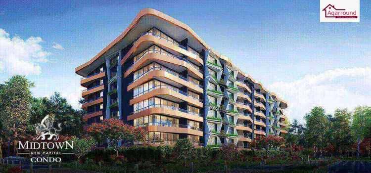 ميدتاون كوندو العاصمة الإدارية الجديدة Midtown Condo New Capital