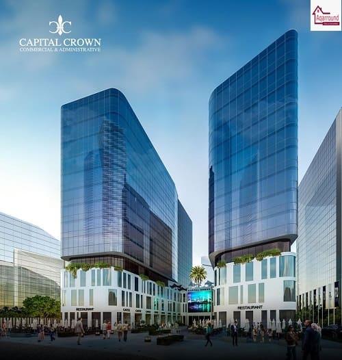 كابيتال كراون العاصمة الإدارية الجديدة capital crown new capital