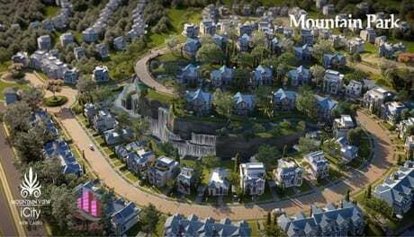 كمبوند ماونتن بارك التجمع الخامس Mountain park