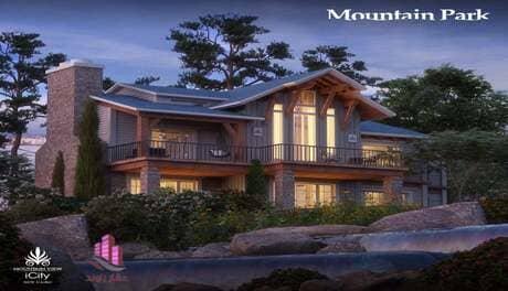 شقق للبيع في كمبوند ماونتن بارك التجمع الخامس Mountain park